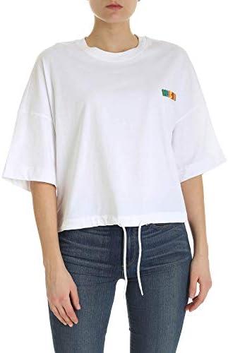 Moschino Fashion Woman A070105401001 White Cotton T-Shirt | Spring Summer 20