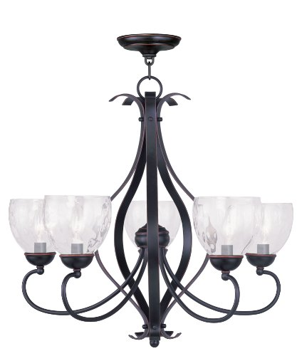 Livex Lighting 4805-67 Brookside 5-Light Chandelier, Olde Bronze