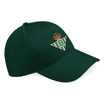 real betis Gorra Balompie. Escudo Bordado  Amazon.es  Deportes y aire libre 37252766700