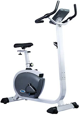 Sunny Health Fitness Asuna 4200 Upright Bike, Gray