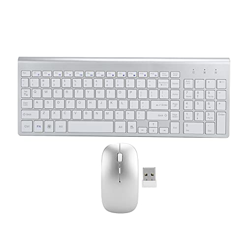 Keyboard and Mouse Combo, Comfortable to Handle 2.4G Wireless Keyboard and Mouse 2.4G Wireless Lightweight for Office Use for Home