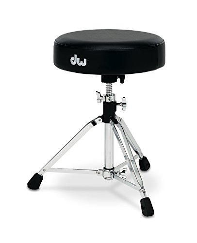 (DW Drum Workshop CP9100M 9000 Series Tripod Throne w/ Round Seat)
