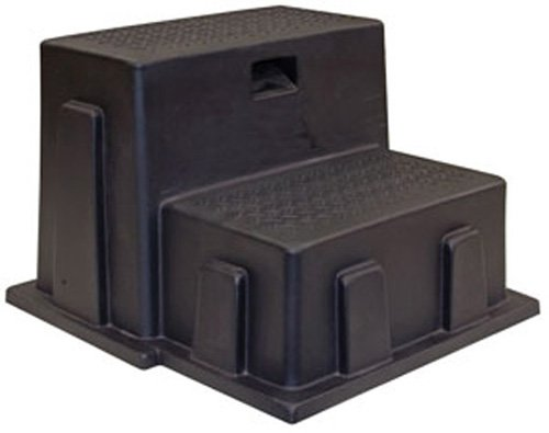 Buyers Products 3013658 Poly Step (Step, Poly, Utility, 2 Steps, Black) For Sale