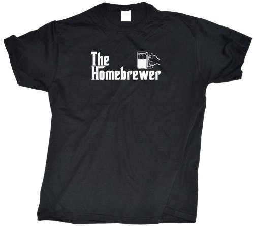 Ann Arbor T-shirt Co. Men's THE HOMEBREWER Beer Brewing T-Shirt