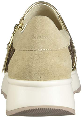 Mujer D Zapatillas Geox Para Gendry Dorado gold A C2xh6 lt Taupe 1Px1nXwH