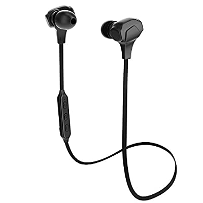 APIE Wireless Sports Bluetooth Headphones Wireless Earbuds with Mic Stereo Headset Noise Cancelling Neckband Sweatproof Earphones