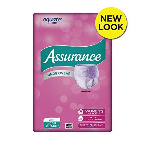 Assurance Underwear, Women's, Size XL, 32 Count (Express Underware)