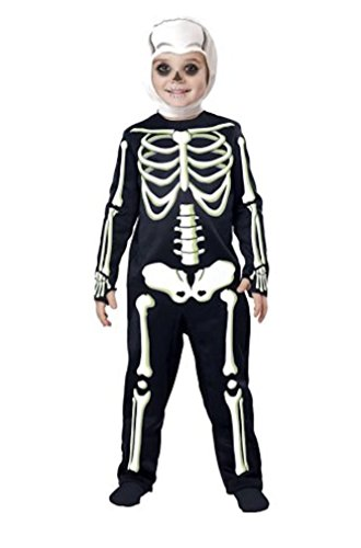 And Costumes Ribs Toddler Short Kids (Little Cutie Boys Ghost Costume Sizes 3 to 6)