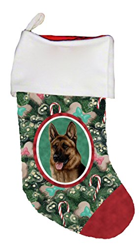 - Best of Breed German Shepherd Dog Breed Christmas Stocking