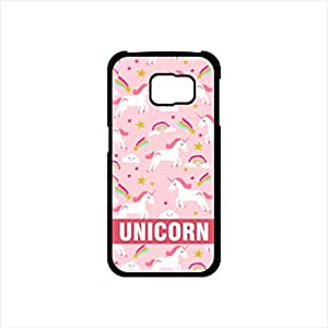 Fmstyles - Samsung S6 Mobile Case - Light Pink Unicorn Design