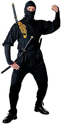 NET TOYS Disfraz de Guerrero Ninja Caza japonés Traje Asia ...