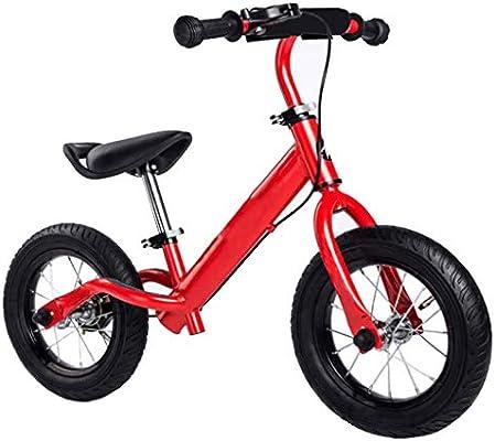 Bicicleta de Equilibrio for Niños de 10/12 Pulgadas con Reposapiés for Niños de 2 A