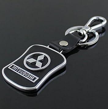 Amazon.com: ChampLED MITSUBISHI - Llavero con emblema de ...