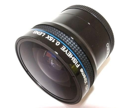 X-treme Pro Hi Definition 0.15x Fisheye Lens For Panasonic Lumix DC-G85 (58mm compatible) Pro Series