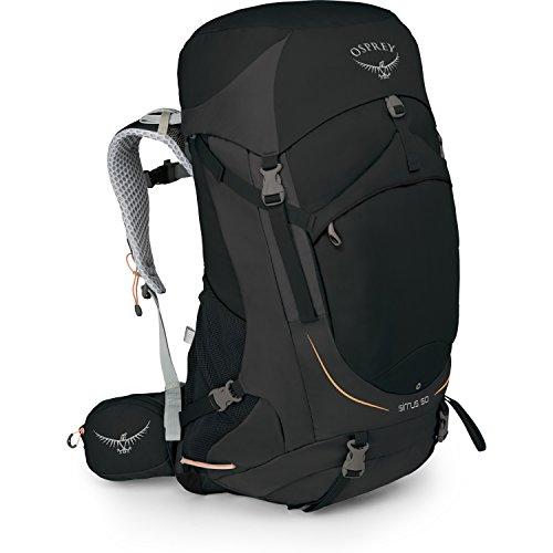 Osprey Packs Sirrus 50 Women's Backpack, Black, Ws/M, Small/Medium