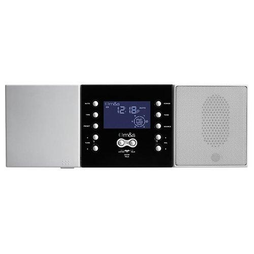 Communication System Master Unit - MSSDMC34 - Mamp;S SYSTEMS DMC3-4 3- or 4-Wire Retrofit Music Communication System Master Unit (White)