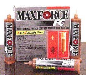 Bayer Maxforce FC Roach Gel Bait 1 case BA1095