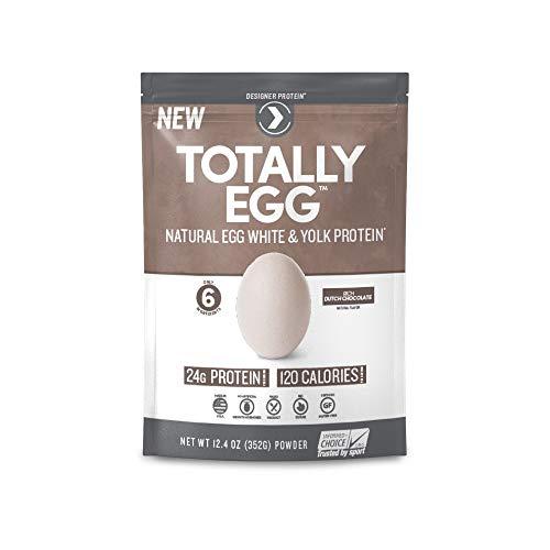 Designer Protein Totally Egg Protein Powder - Rich Dutch Chocolate (Pack of 2)