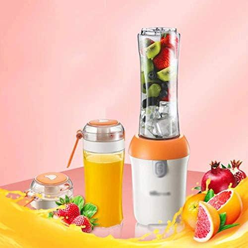 ECSWP Juicer, petite machine automatique à la maison de fruit et de légume, mini presse-fruits multifonctionnel