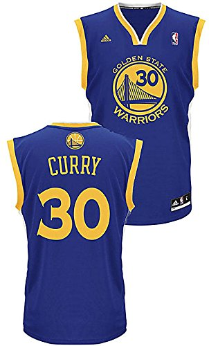 Stephen Curry Youth Golden State Warriors Adidas Swingman Basketball Jersey  (L 14-16 98b0d06ef