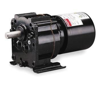 Dayton 3M326 AC Gearmotor 115 Nameplate RPM 4.1 Max. Torque 200.0 in.-lb. Enclosure TEFC