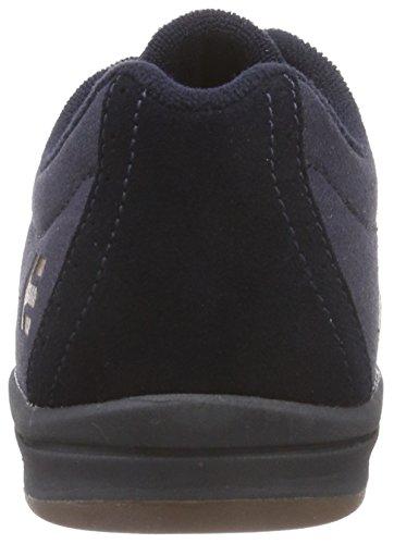 Etnies JAMESON E-LITE - zapatilla deportiva de cuero hombre azul - Blau (Navy/Gum)