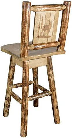 Montana Woodworks Glacier Country Collection Counter Height Barstool