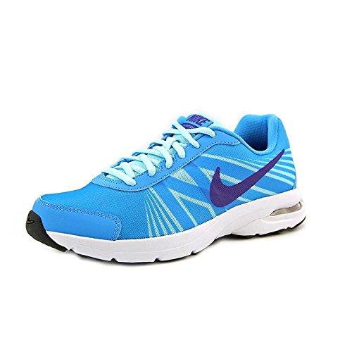 Nike Women's Air Futurun 2 Running Shoes, Vivid Blue/Glacier Ice/White/Court Purple, 40.5 B(M) EU/6.5 B(M) UK