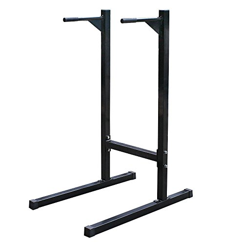 Zeny Dipping station Dip Stand Pull Push Up Bar Fitness Exercise Workout Gym 500lbs (#1) by ZENY