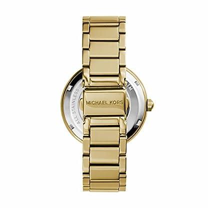 Michael Kors Damen Analog Quarz Uhr mit Edelstahl Armband MK5784 3