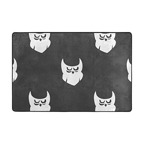 MALPLENA Cute Halloween Spirit Entry Way Door Mat Doormat Area Rug Carpet Floor Mats Shoes Scraper for Living Room/Dining Room/Bedroom/Kitchen Non Slip for $<!--$22.98-->