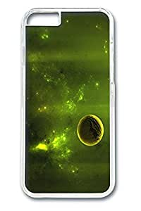 Green Space Polycarbonate Hard Case Cover for iphone 6 plus 5.5inch Transparent