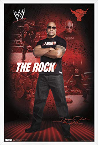 Trends International WWE – The Rock Wall Poster, 24.25 X 35.75 , Multi