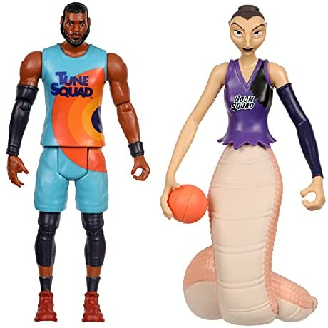 SPACE JAM: A New Legacy – 2 Pack – On Court Rivals – Lebron & White Mamba