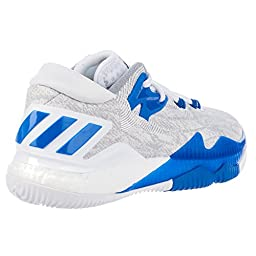 Adidas Crazylight Boost Low 2016 Shoes - Running White Ftw / Satellite / Light Onix - Boys - 7