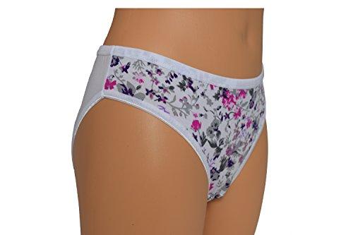 Nova - Bikini - para mujer weiß/Blumen