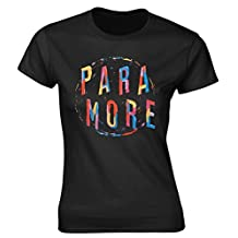Paramore 'Painting Spiral' Womens Fitted T-Shirt