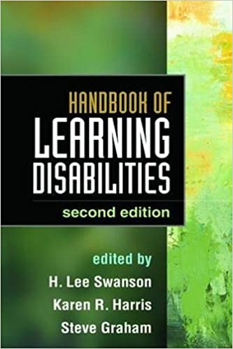 The State Of Learning Disabilities >> Handbook Of Learning Disabilities Second Edition H Lee Swanson