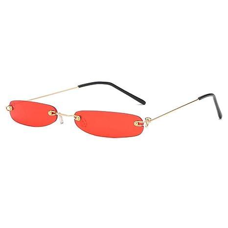 FOONEE - Gafas de Sol estrechas para Mujer, protección UV400 ...