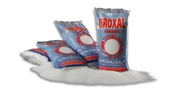 6 x 2 kg regenerier Sal broxal Classic para lavavajillas: Amazon ...