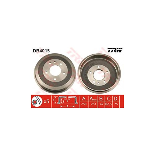 TRW DB4015 Brake Drums: