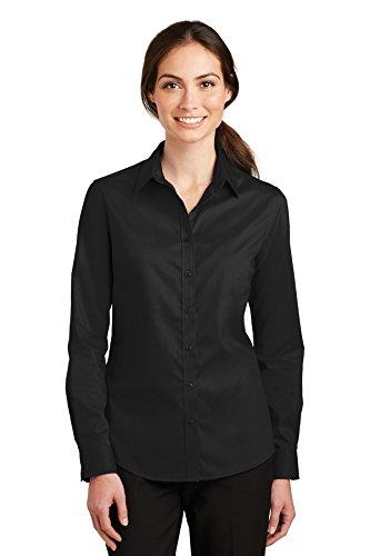 Port Authority Ladies SuperPro Twill Shirt-L663-XL ()