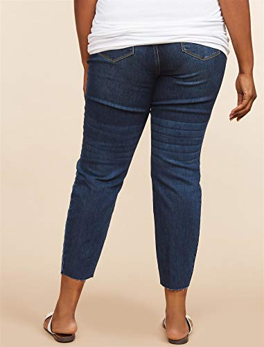 a4821fb67e95c Jessica Simpson Plus Size Secret Fit Belly Skinny Leg Maternity Ankle Pants