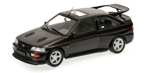 1992 Ford Escort RS Cosworth Black Metallic 1/18 by Minichamps 150089020