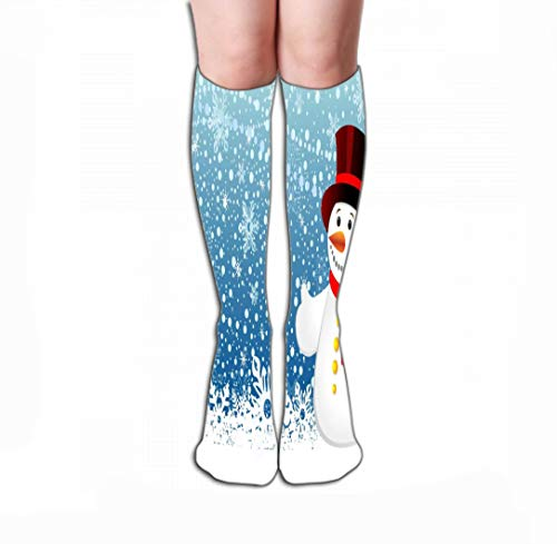 YILINGER Sport High Stockings Athletic Compression Long Socks for Men's Women and Girls 19.7