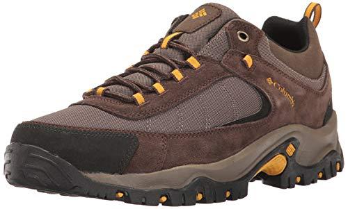 Columbia Men's Granite Ridge Hiking Boot, mud, Golden Yellow, 11 Wide US