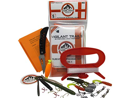 Vigilant Trails Pocket-Survival Fishing