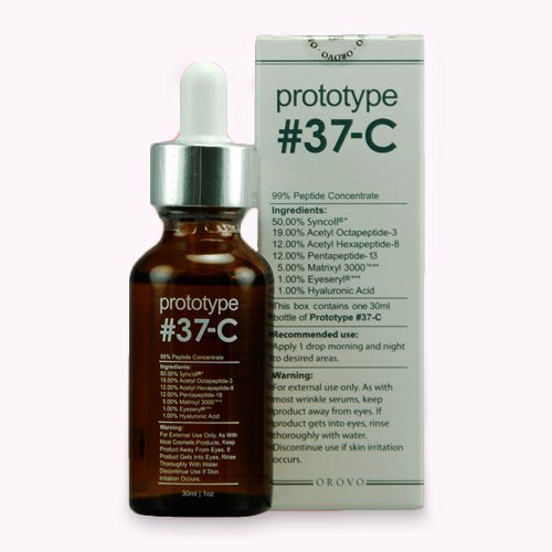 Prototype 37-C - Age and Wrinkle Serum with 99% Peptide Concentration - Feel Young Again (Prototype 37 C Best Price)