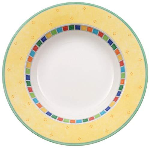 Villeroy & Boch Twist Alea Limone Rim Soup Bowl