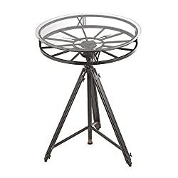 Tripod Clock Table by Sterling Industries